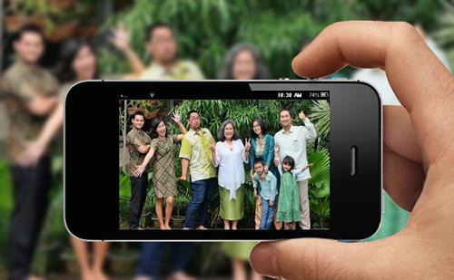 Tips: Foto Keluarga dengan Smartphone