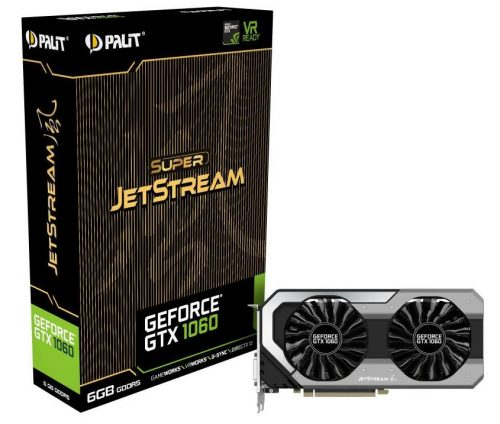 Palit GeForce-GTX 1060 JetStream