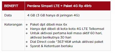 paket flash 4G