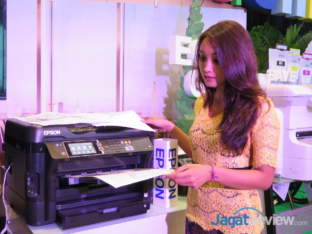 Epson Indonesia Hadirkan L1455, Printer L-Series Multifungsi Sistem
