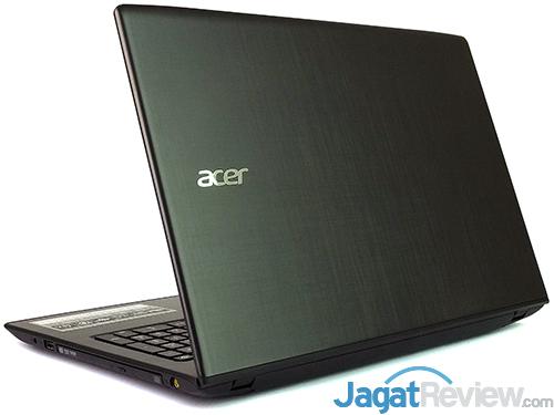 Acer Aspire E5-553G Rear Side