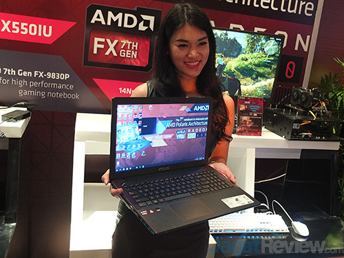 AMD ASUS Laptop RX 460 Launch 04