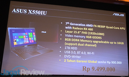 AMD ASUS Laptop RX 460 Launch 07