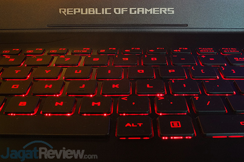 ASUS ROG STRIX GL702VM Keyboard - Backlit