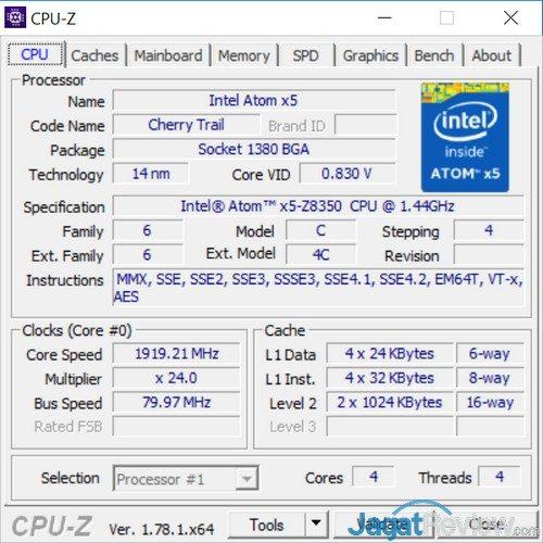 CPUz - CPU