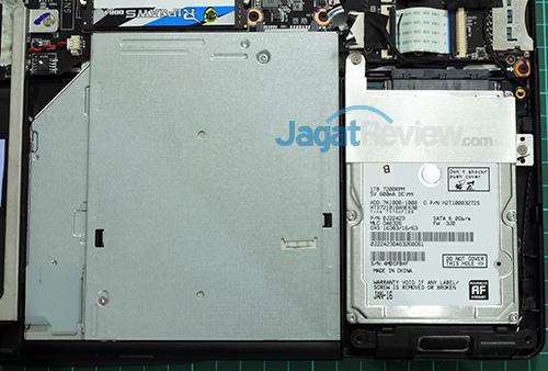 Gigabyte P35X v6 HDD & ODD