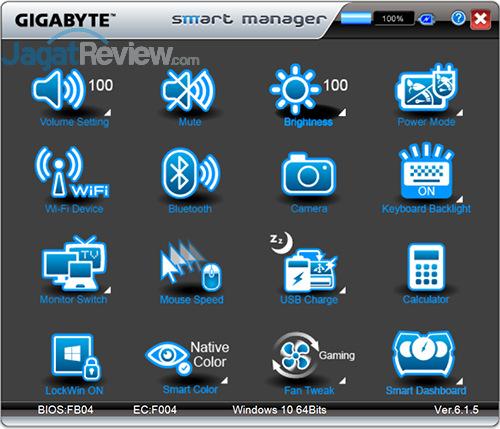 Gigabyte P35X v6 Smart Manager 01