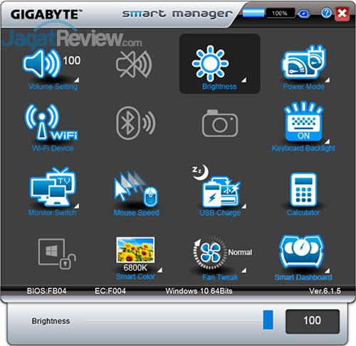 Gigabyte P35X v6 Smart Manager 05