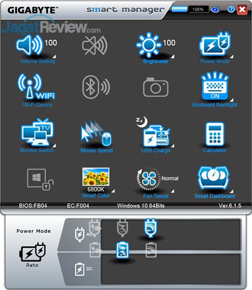 Gigabyte P35X v6 Smart Manager 07