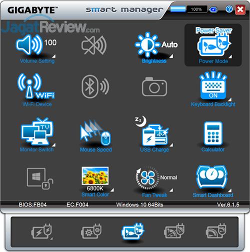 Gigabyte P35X v6 Smart Manager 08