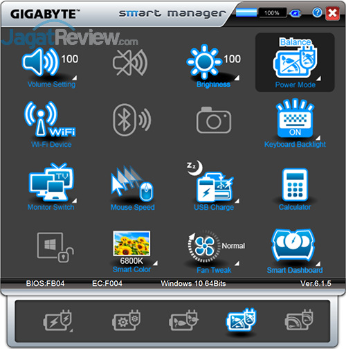Gigabyte P35X v6 Smart Manager 09
