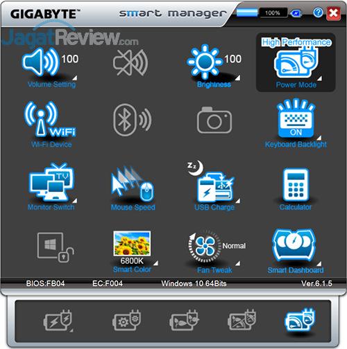 Gigabyte P35X v6 Smart Manager 10