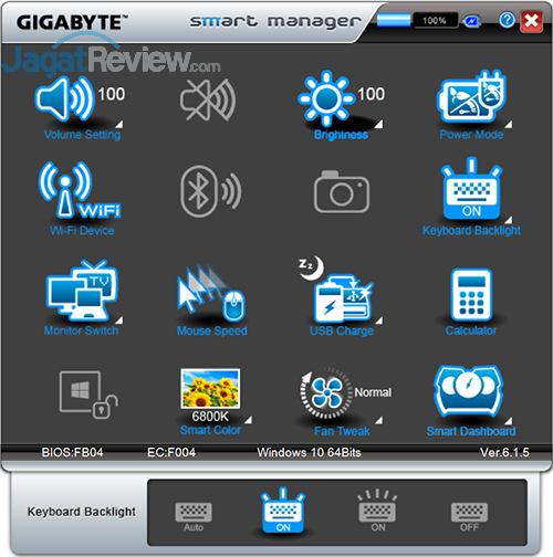 Gigabyte P35X v6 Smart Manager 13