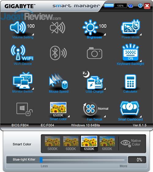 Gigabyte P35X v6 Smart Manager 20