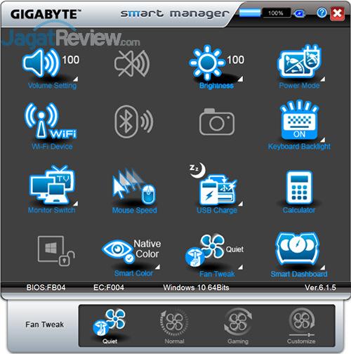 Gigabyte P35X v6 Smart Manager 24