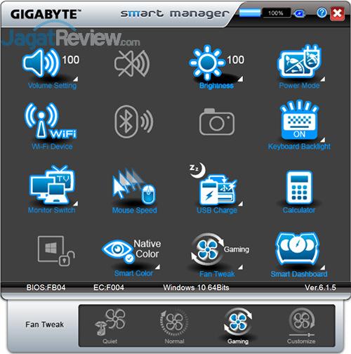 Gigabyte P35X v6 Smart Manager 26