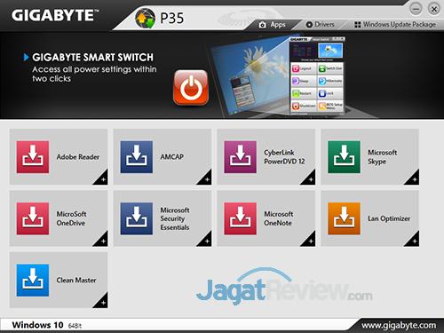 Gigabyte P35X v6 Smart Update 01