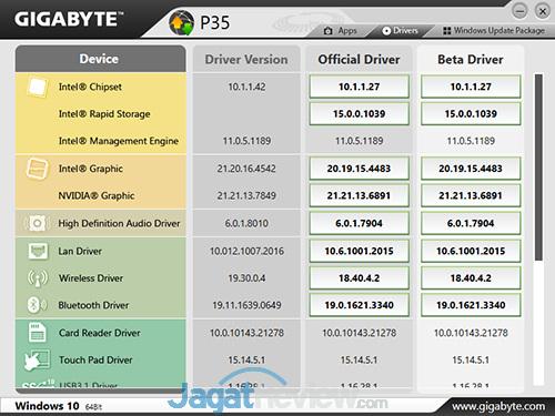 Gigabyte P35X v6 Smart Update 02