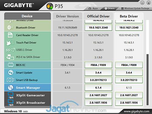 Gigabyte P35X v6 Smart Update 03