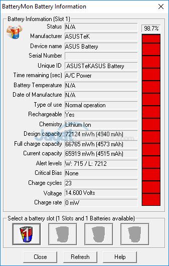 ASUS ROG GX800 Battery