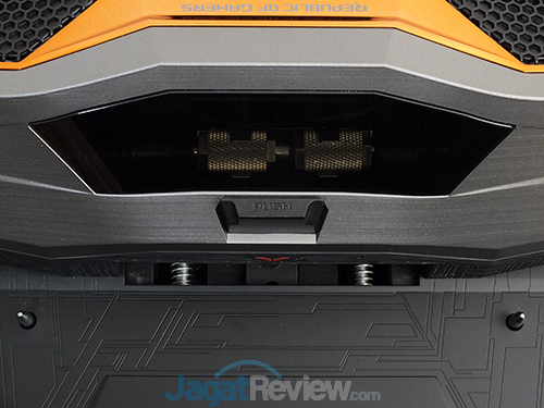 ASUS ROG GX800 Docking - Release Button & Transparent Window