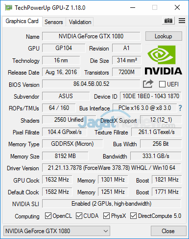 ASUS ROG GX800 GPUZ 02