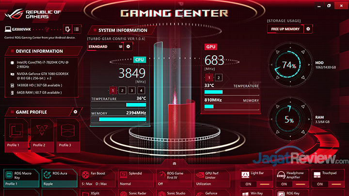 ASUS ROG GX800 Gaming Center 01