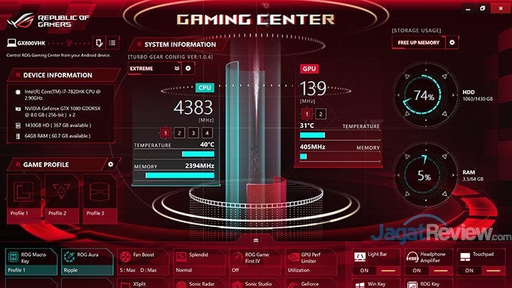 ASUS ROG GX800 Gaming Center 03