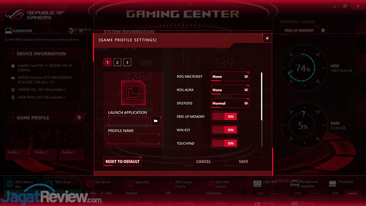 ASUS ROG GX800 Gaming Center 12