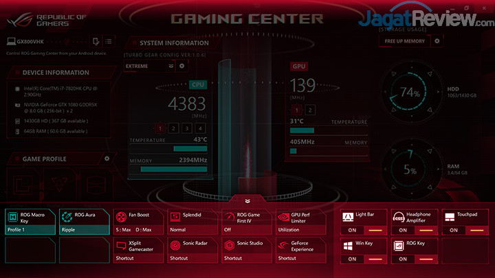 ASUS ROG GX800 Gaming Center 20