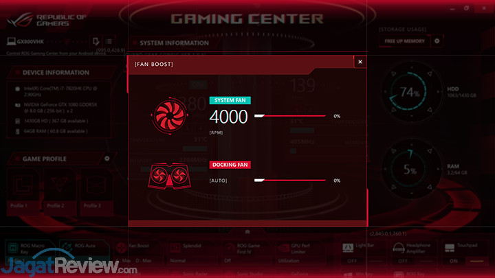 ASUS ROG GX800 Gaming Center 21