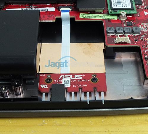 ASUS ROG GX800 Indicator Lamps - PCB