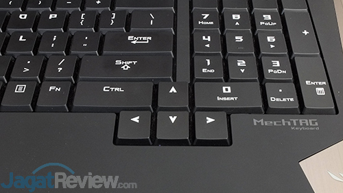 ASUS ROG GX800 Keyboard - Arrow Keys