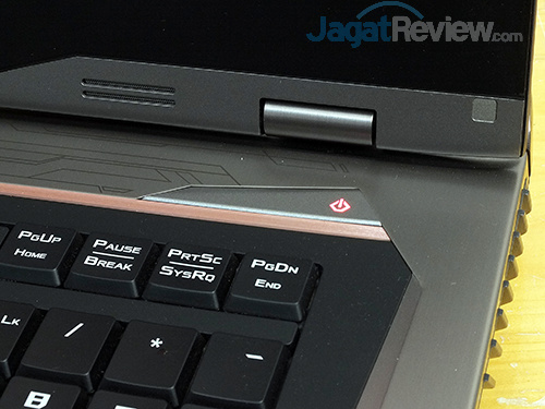 ASUS ROG GX800 Power Button