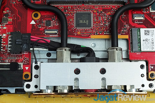 ASUS ROG GX800 Rear Ports - Inside