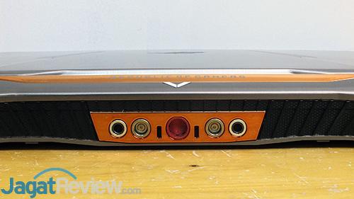 ASUS ROG GX800 Rear Ports