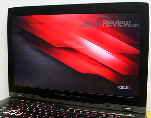 ASUS ROG GX800 Screen