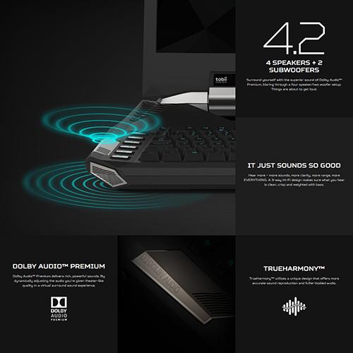 Acer Predator 21X Audio