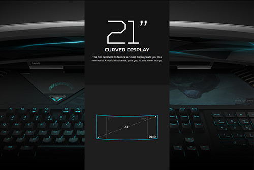 Acer Predator 21X Curved Screen