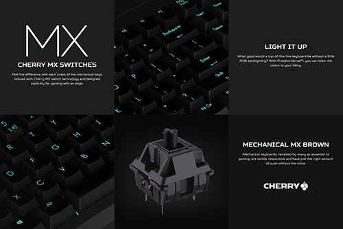 Acer Predator 21X Keyboard