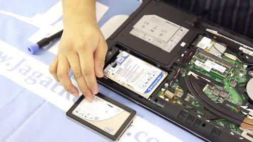 Ganti SSD