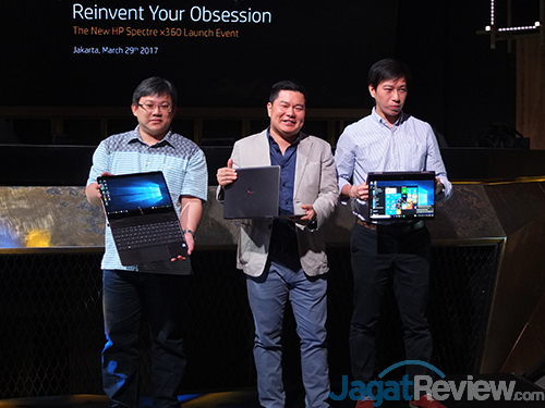 HP Spectre x360 Launch
