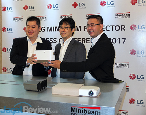 LG Laser Projector Launch 01