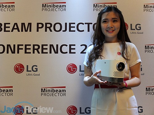 LG Laser Projector Launch 02
