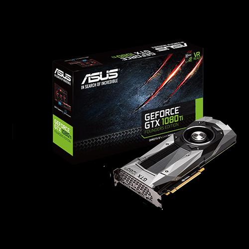 ASUS GTX 1080 Ti FE - 1480 1582 11010