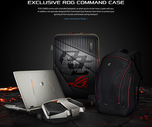 ASUS ROG GX800 Carrying Case