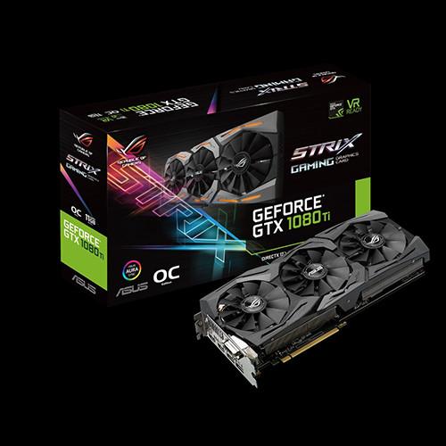 ASUS ROG STRIX GTX 1080 Ti OC - Gaming 1569 1683 11010 OC 1594 1683 11100
