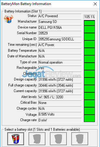 Dell Inspiron 11 3179 Battery