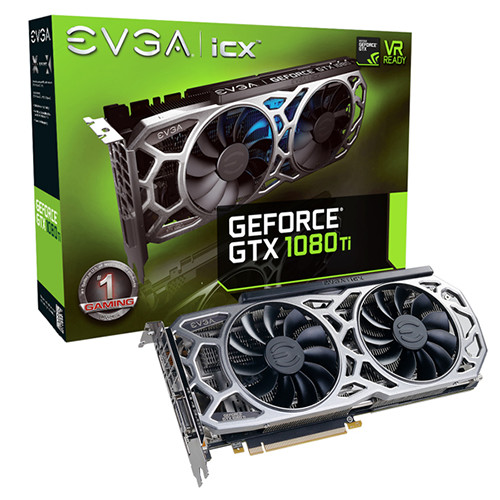 EVGA GTX 1080 Ti SC2 Elite Gaming - 1556 1670 11010