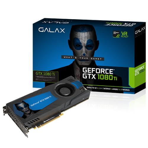 GALAX GTX 1080 Ti - 1480 1582 11010